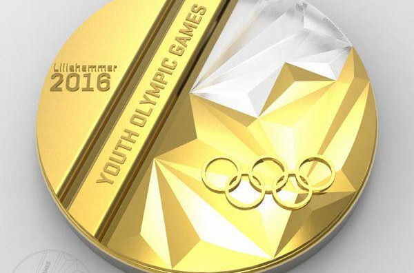 The IOC have announced the winner of the Lillehammer 2016 medal design competition ©Twitter/Lillehammer2016