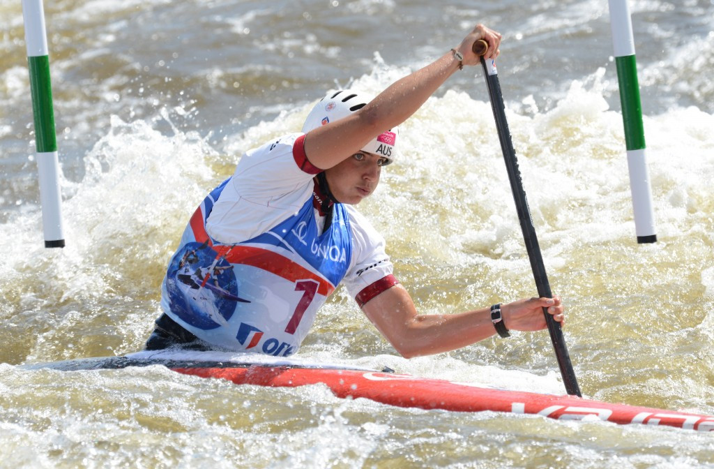 Australian canoe slalom star Jessica Fox was one of the judges of the competition