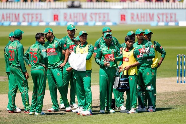 Bangladesh player reprimanded by ICC for abusive language in defeat to New Zealand