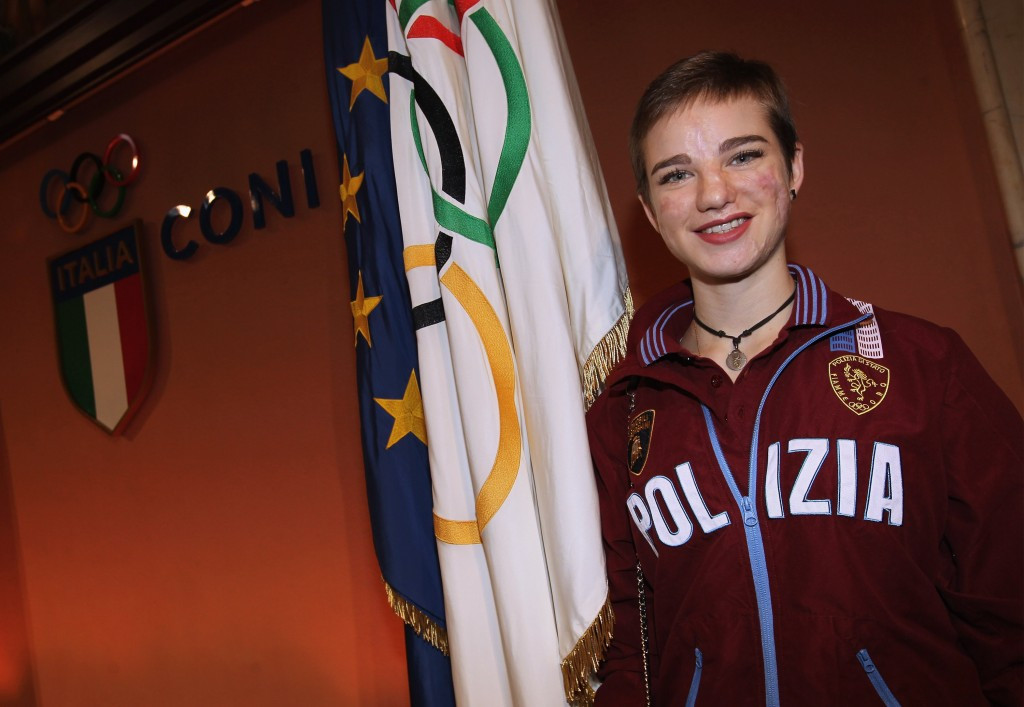 Wheelchair fencing star Beatrice Vio has been named Italian of the Year by Catholic weekly magazine Famiglia Cristiana ©Getty Images