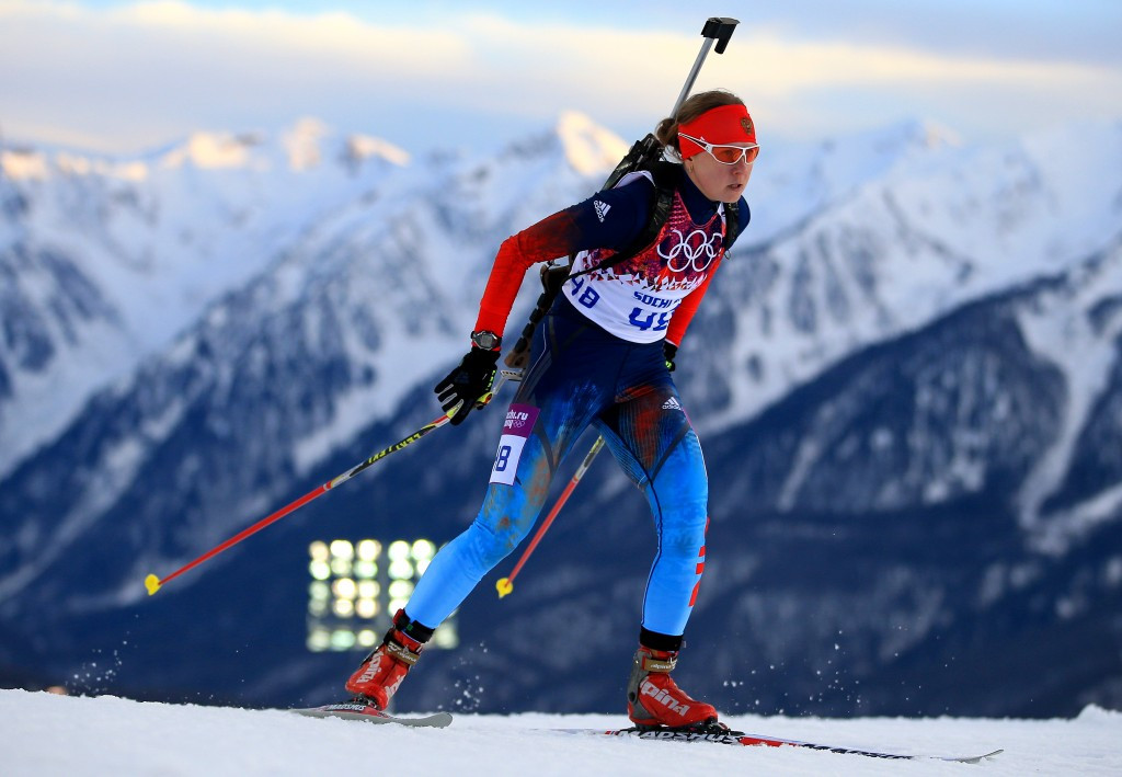 Olympic silver medallist Yana Romanova of Russia has claimed she is not guilty of doping ©Getty Images