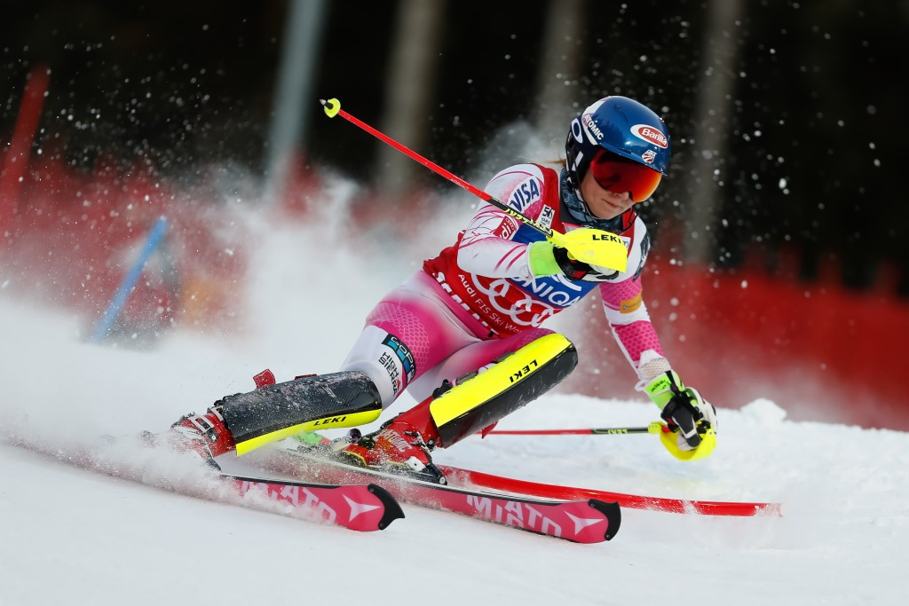 Mikaela Shiffrin of the United States secured her third straight victory in Semmering ©Getty Images
