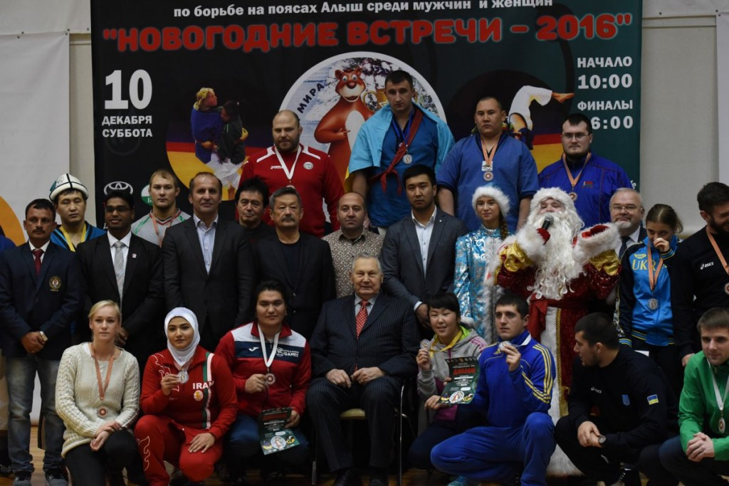 Kyrgyzstan dominated the UWW World Cup of Belt Wrestling in Minsk earlier this month ©UWW