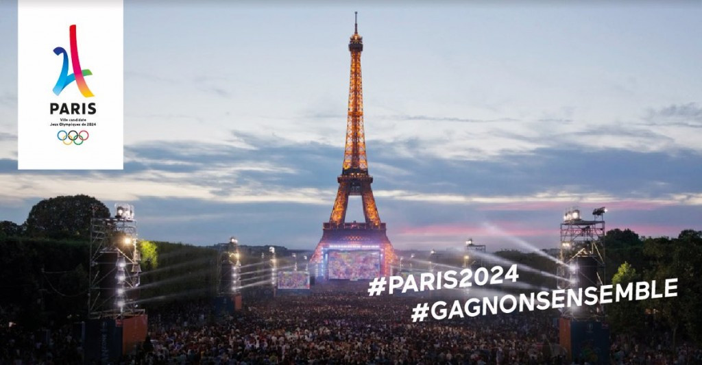 Paris 2024 have unveiled a New Year's message looking ahead to 2017 ©Paris 2024