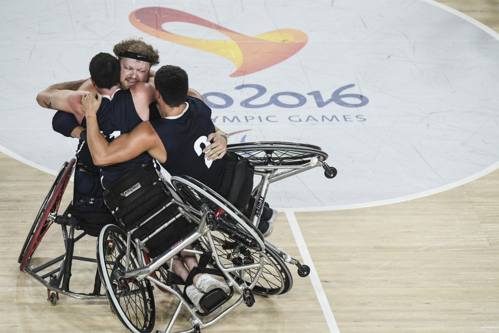 Wheelchair basketball sold 85 per cent of its tickets at Rio 2016 ©Getty Images