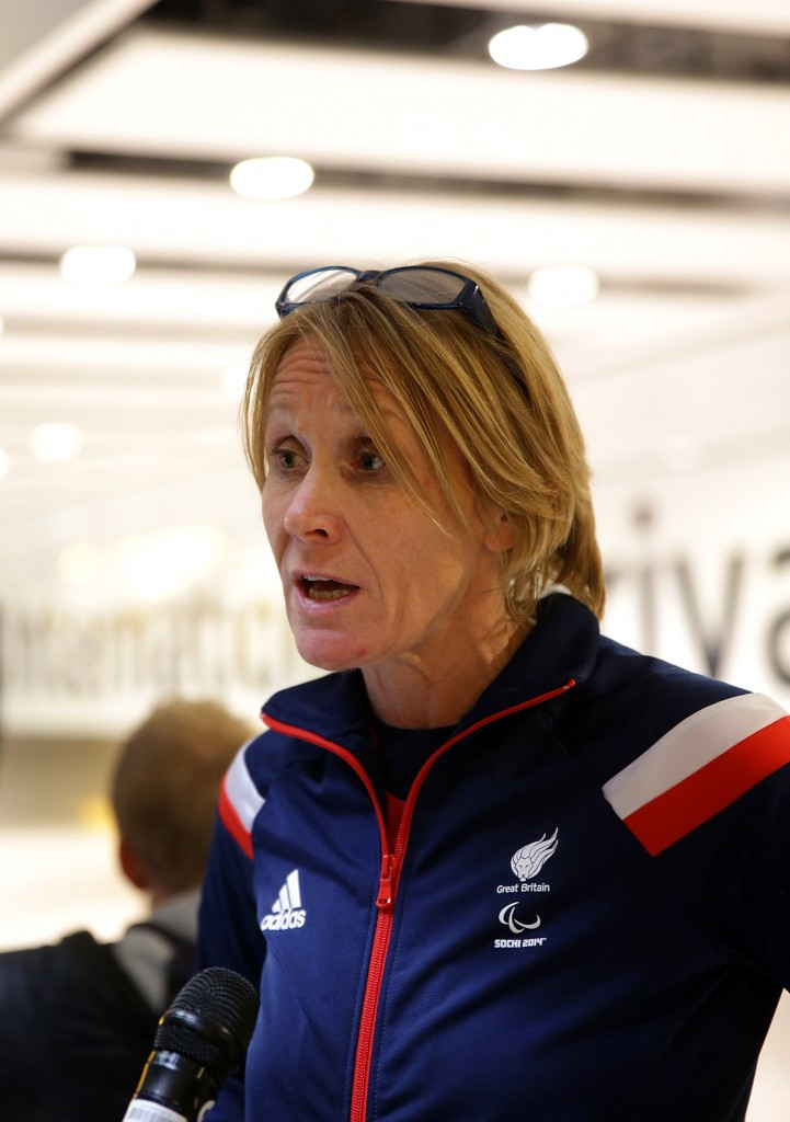 ParalympicsGB's Chef de Mission Penny Briscoe has received an OBE ©Getty Images