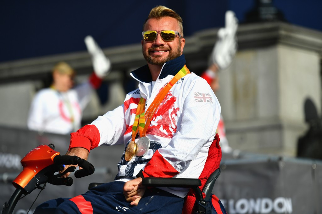 Eleven-time Paralympic medallist Lee Pearson has been knighted ©Getty Images