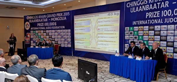 The official draw took place at the Buyant Ukhaa Sport Complex this afternoon