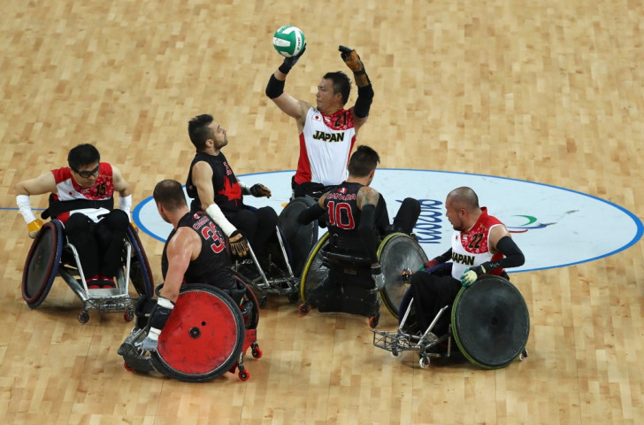 Japan and Canada contest bronze in the men's wheelchair rugby at Rio 2016 but UK Sport's decision to rescind all funding for this sport in the next four years to Tokyo 2020 has raised a huge outcry in Britain ©Getty Images