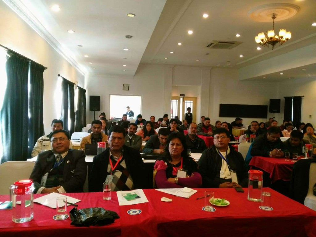Delegates at the Nepalese Sports Congress discussed various issues relating to development and progress in the country ©Nepalese Olympic Committee
