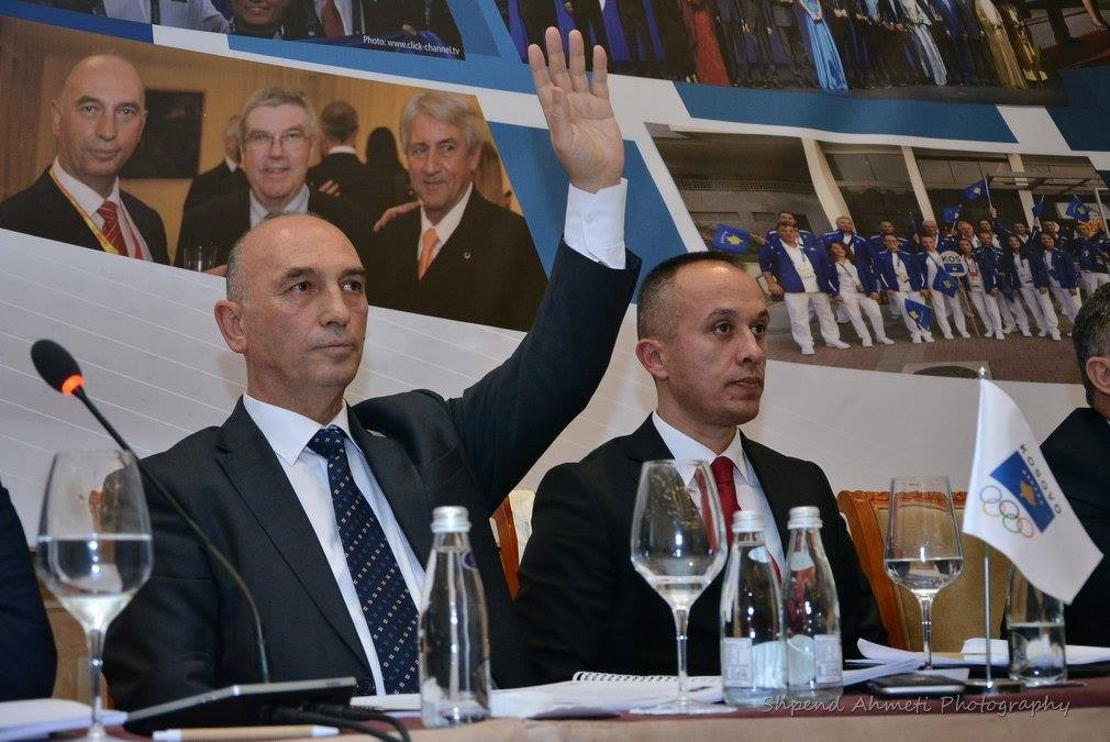 Hasani targets top 10 medals table finish following re-election as Kosovan Olympic Committee President