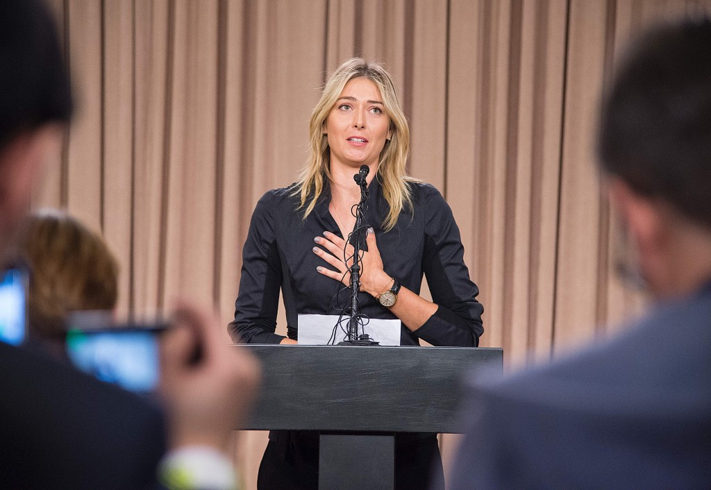 Russian tennis player Maria Sharapova was among dozens of top athletes to fail for meldonium after it was added to the World Anti-Doping Agency Prohibited List for 2016 ©Getty Images