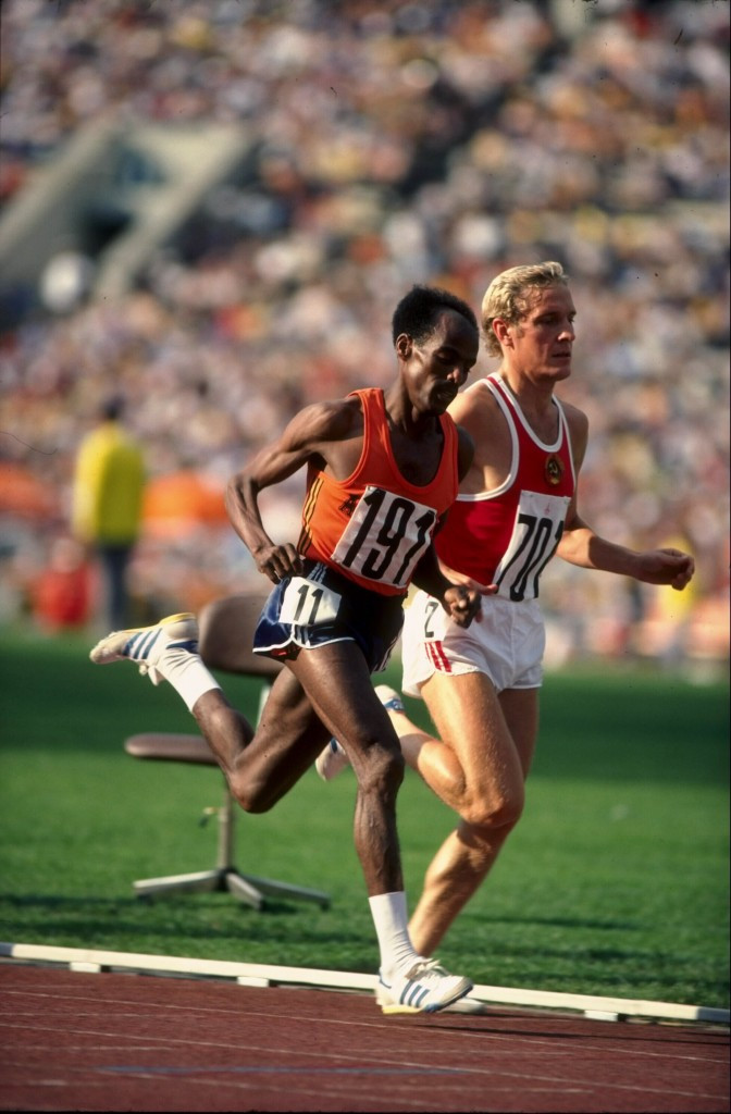 Miruts Yifter won the 5,000m and 10,000m gold medals at the 1980 Olympic Games in Moscow ©Getty Images