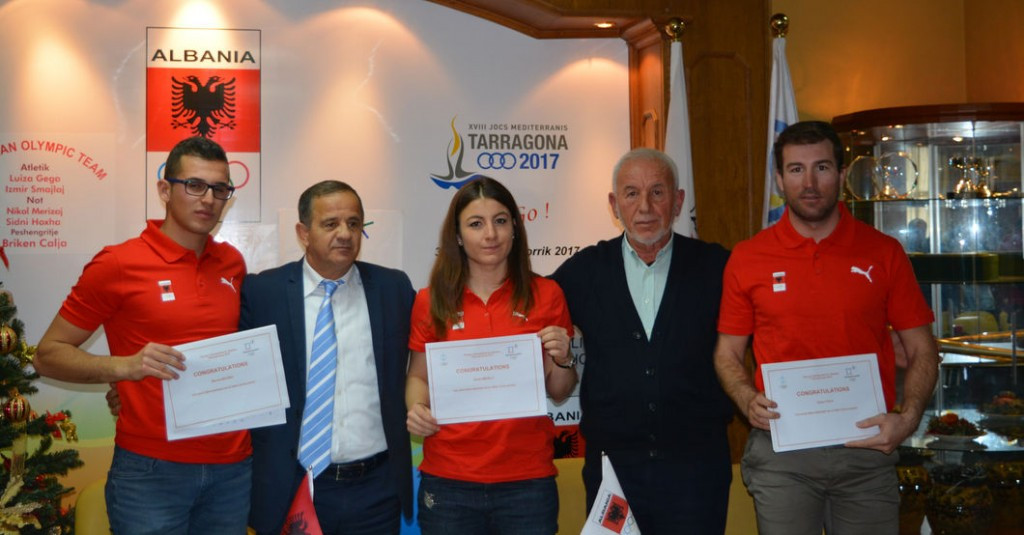 The Albanian National Olympic Committee has offered support to three Alpine skiers ©AOC