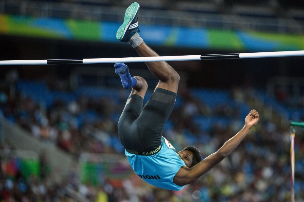 Mariyappan Thangavelu became India's first Paralympic gold medallist since Athens 2004 with success at Rio 2016 ©Getty Images