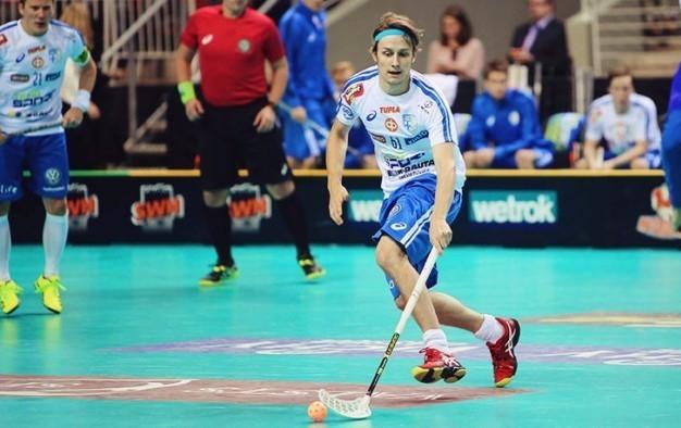Finnish floorball player scoops International World Games Association Athlete of the Month award for December