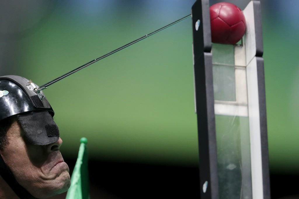 "David Hadfield claimed 2016 was the ""most successful year yet in the history of boccia"" ©Getty Images"