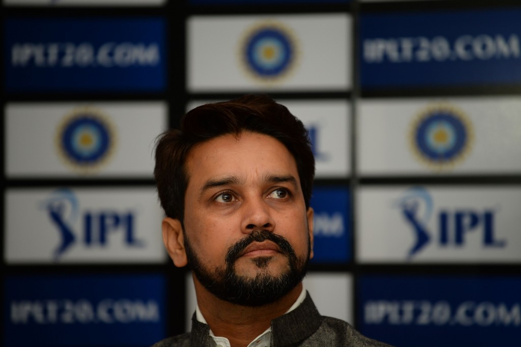 Anurag Thakur has been removed as President of the BCCI after being ordered to quit by the country's Supreme Court on charges of perjury and contempt of court ©Getty Images