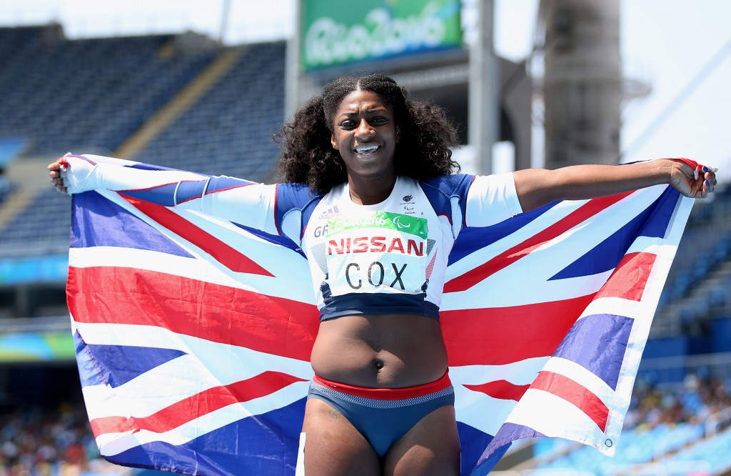 British Athletics suspend funding of Paralympic champion Cox over participation in The Jump