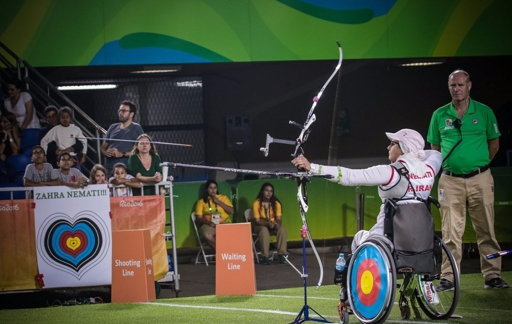 Zahra Nemati of Iran defending her London 2012 recurve title was also selected ©World Archery