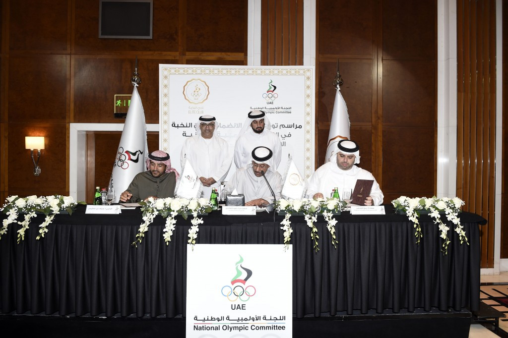 Sheikh Ahmed unanimously re-elected President of UAE National Olympic Committee