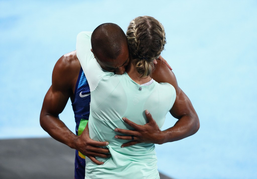Olympic champion Eaton and bronze medal winning wife Theison-Eaton announce retirements