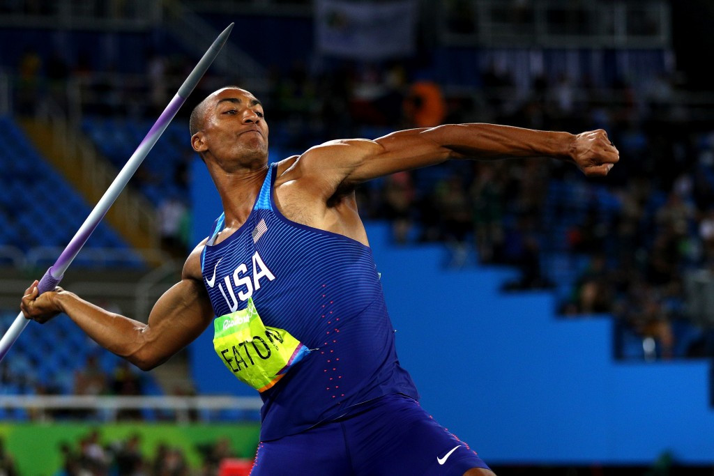 Ashton Eaton retained his Olympic decathlon title at Rio 2016 ©Getty Images