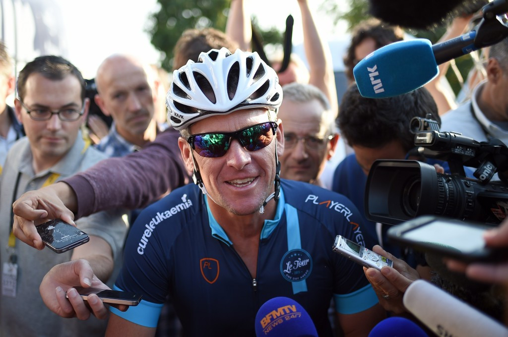 The Sunday Times said it could not have tackled the Lance Armstrong story under the proposed new rules ©Getty Images