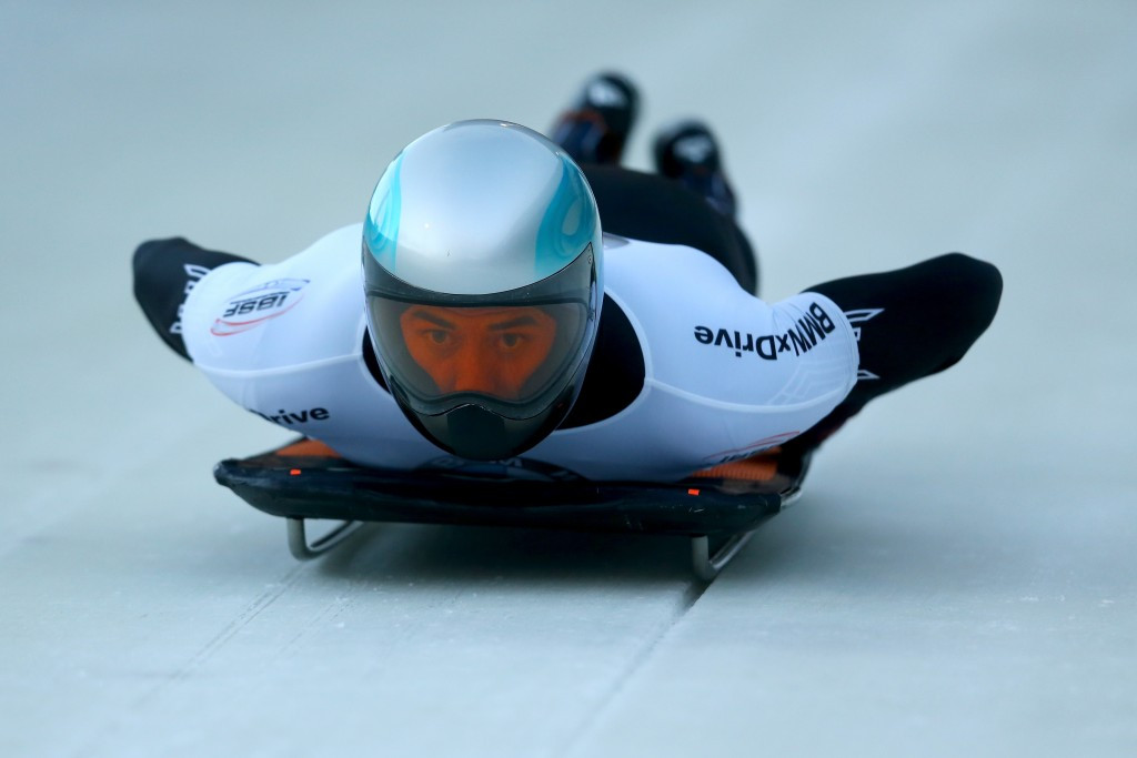 Men's skeleton World Cup leader Aleksandr Tretyakov has been provisionally suspended by the IBSF ©Getty Images