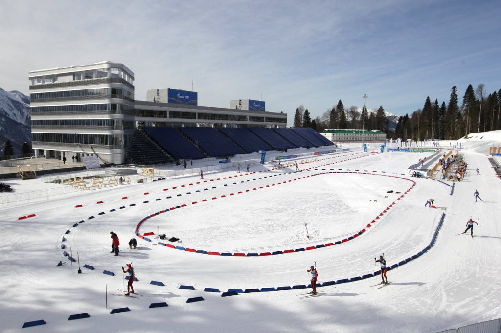 The Laura Cross Country Ski and Biathlon Centre is one of the venues built for the 2014 Winter Olympics and Paralympics in Sochi set to be used at the World Winter Games next month ©CISM