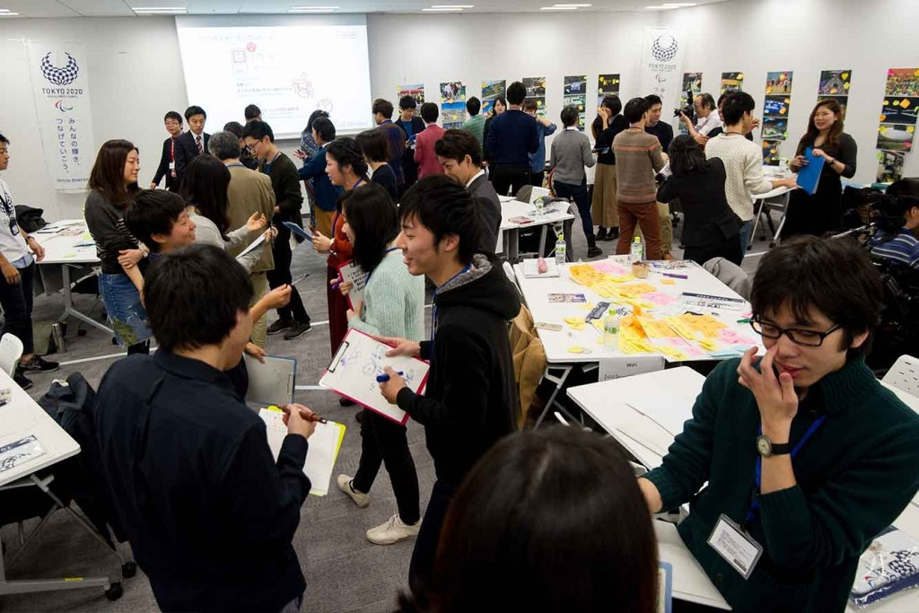 An 'Ideathon' in a bid to develop ideas for the Tokyo 2020 Olympic and Paralympic Games has been held ©Tokyo2020