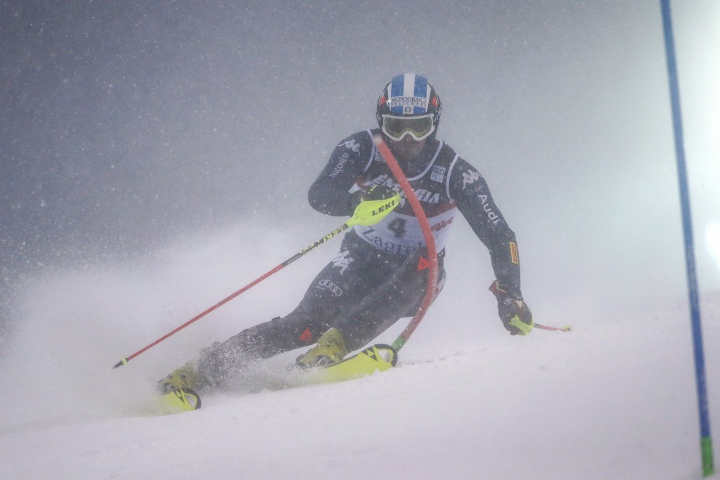 Moelgg claims first FIS Alpine Skiing World Cup win since 2009 under tough conditions in Zagreb