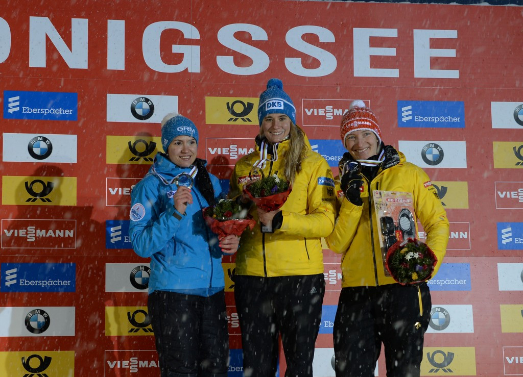 Home favourite Geisenberger claims third European title as FIL World Cup continues in Königssee