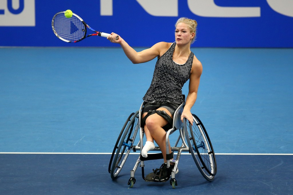 Diede de Groot will be making her grand slam debut at the Australian Open later this month ©Getty Images