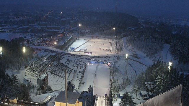 Lahti prepares to host FIS Nordic Combined World Cup in dress rehearsal for World Championships
