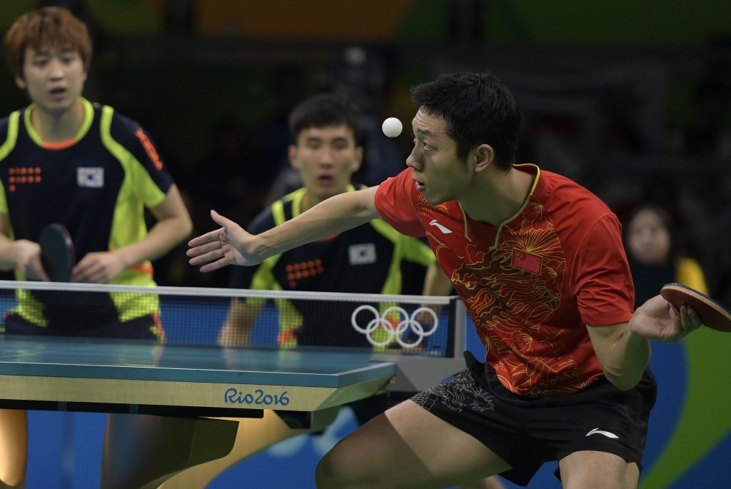 The men's team semi-final match against South Korea was believe to have had 13 million unique viewers in China ©Getty Images