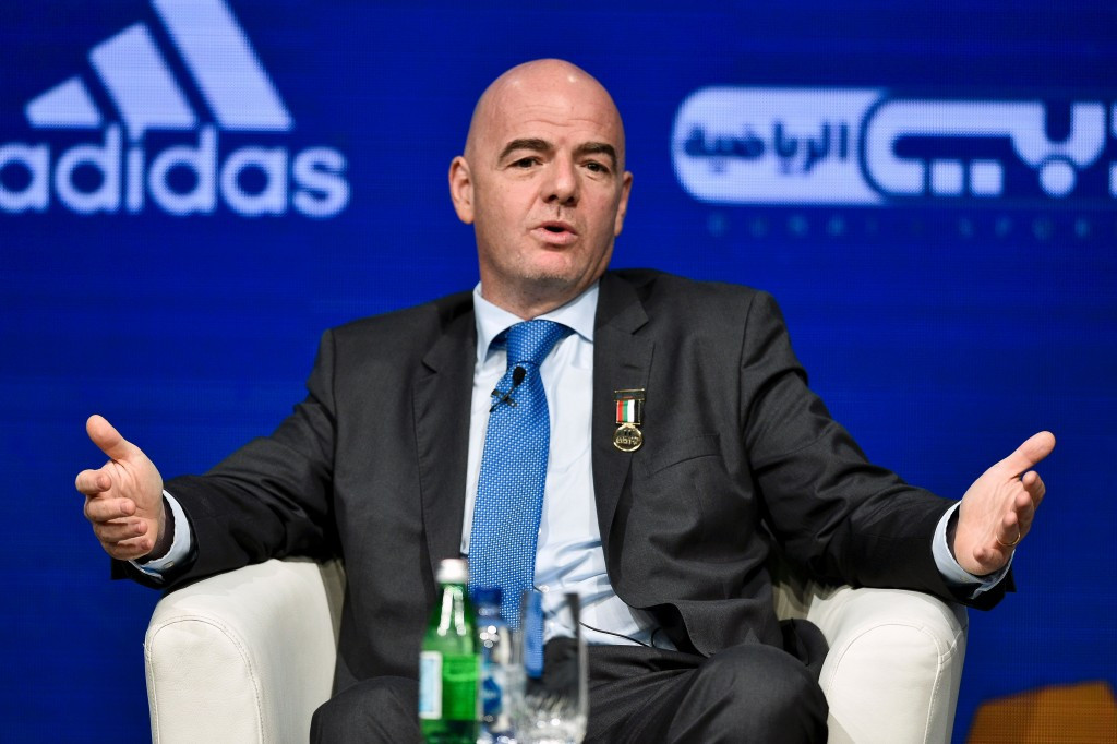 Gianni Infantino has spearheaded the expansion of the FIFA World Cup, which is expected to be confirmed next week ©Getty Images