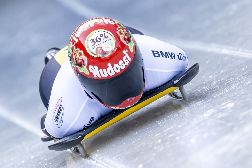 Jacqueline Lölling won her maiden World Cup race to take the overall series lead ©Getty Images