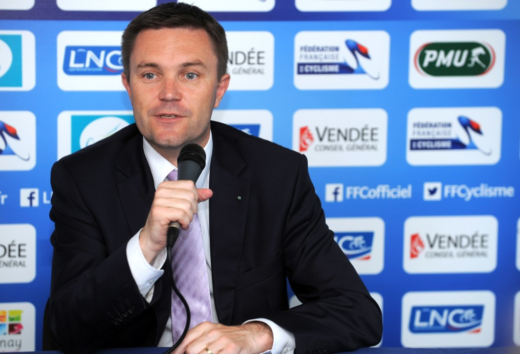 David Lappartient announced he would not seek a third term as French Cycling Federation President last year, sparking suggestions he could stand against Brian Cookson to become head of the UCI ©Getty Images