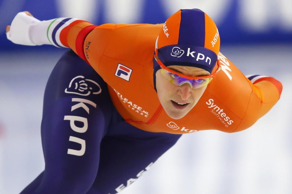 Wüst delights Dutch crowd with strong start at European Speed Skating Championships in Heerenveen