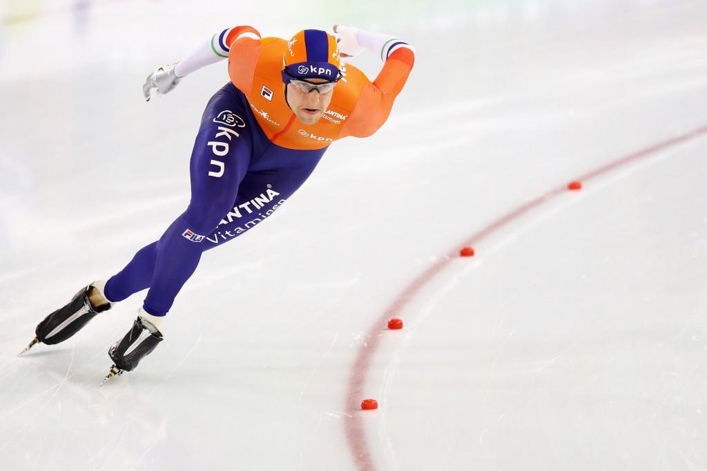Dutchman Ronald Mulder won the men's 500m sprint event ©Getty Images