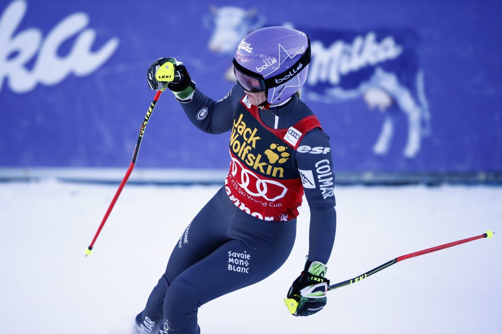 Tessa Worley extended her dominant run of giant slalom success ©Getty Images