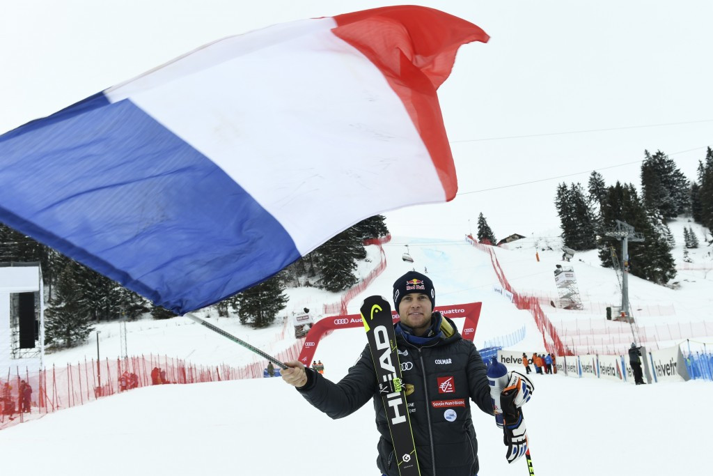 Alexis Pinturault also won on a day of French giant slalom dominance