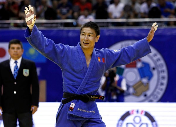 Amartuvshin Dashdavaa was one of three Mongolian gold medallists on day one of the IJF Judo Grand Prix in Ulaanbaatar ©IJF