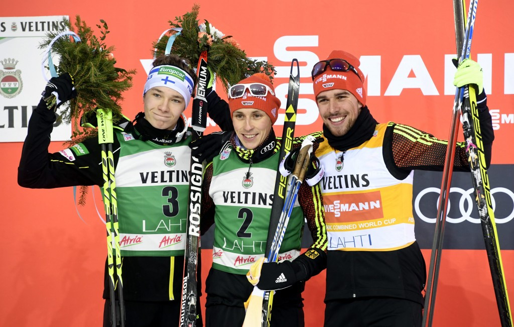 Another success for Frenzel as he tops podium in Lahti