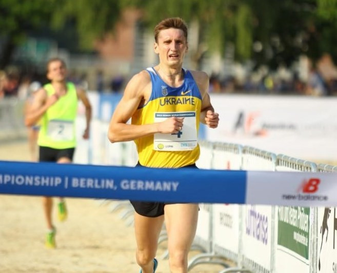 Ukraine's Pavlo Tymoshchenko wins the Modern Pentathlon World Championships title in Berlin - and books a place at the Rio 2016 Games ©UIPM