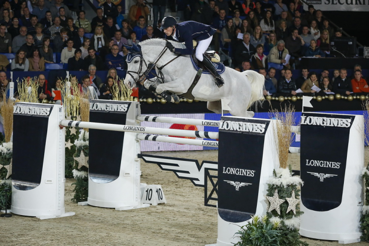 Deusser rises to top of FEI jumping world rankings