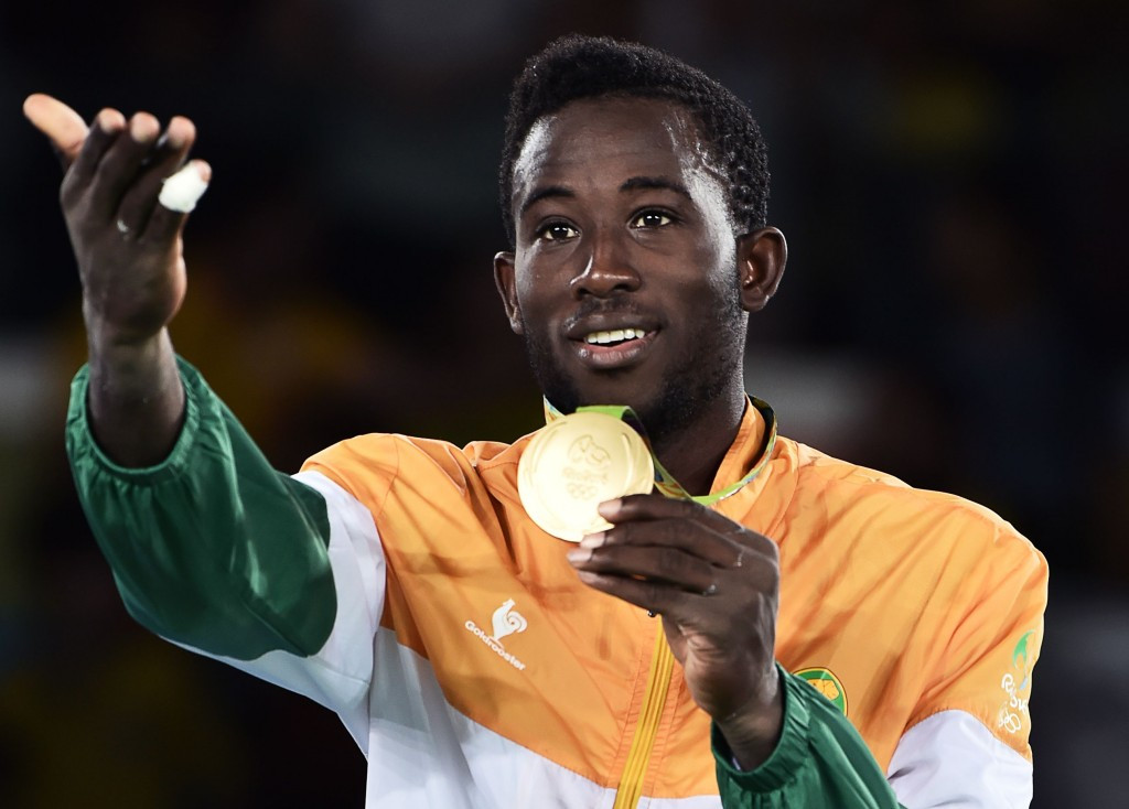 Ivory Coast's taekwondo gold medallist Cheick Sallah Cisse was one of Africa's stars at Rio 2016 ©Getty Images
