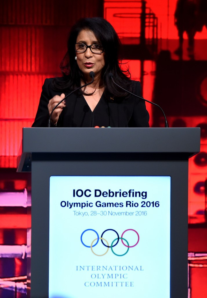 Nawal El Moutawakel chaired the Coordination Commission for Rio 2016 ©Getty Images