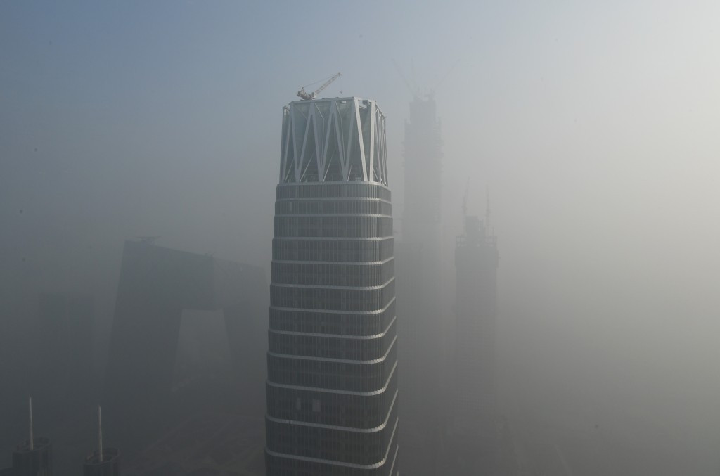 Beijing's acting Mayor has vowed to act to tackle the city's pollution problems ©Getty Images